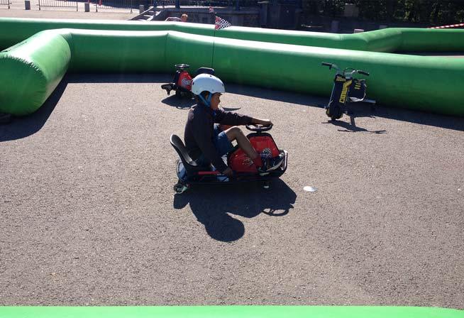 Mini-kart à pédale pour les enfants