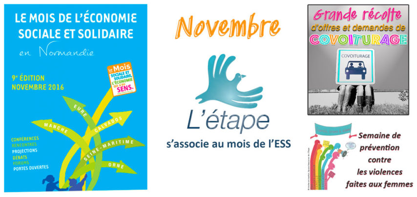 En novembre, L'Étape s'associe au mois de l'ESS