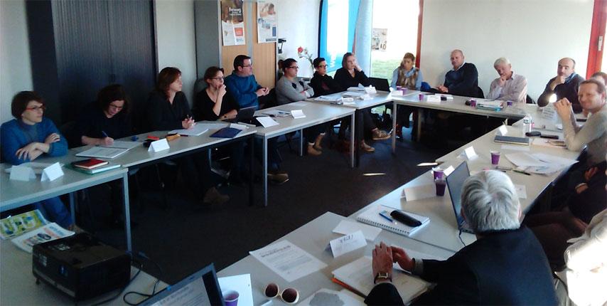 réunion du réseau Mob'In Normandie