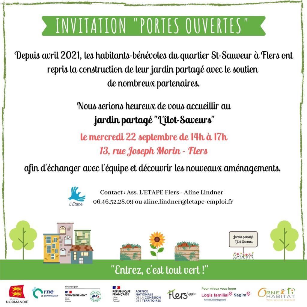 invitation portes ouvertes jardin St Sauveur jpg